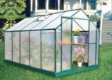 Greenhouse aluminium and polycarbonate