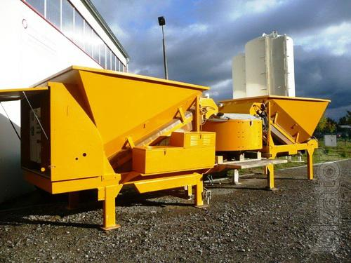 For sale, used mobile concrete batching plant