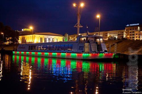 """Passenger Ship """"Altair"""". Belarus, Minsk"""
