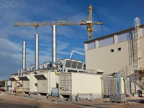 Мусороперерабатывающий завод с использованием плазменного реактора.