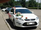 Rent Ford Mondeo (white color) with driver