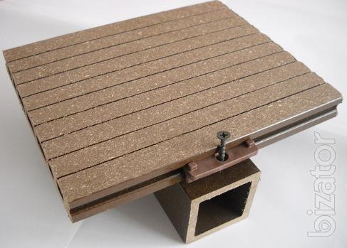 Decking (wood plastic composite)
