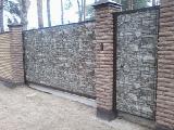The construction of fences, sheds, gates