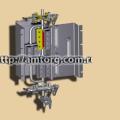 The pointer level of liquid T-BM,T-b,T-b,T-45-2,T-45-1,T-30B,T-BM,TB