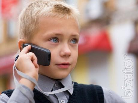 Control of the child on a mobile phone, mobile control