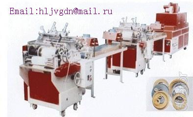 Printing machine for PVC furniture edge
