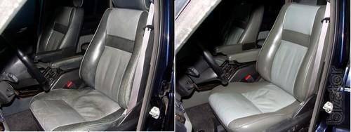 Painting(repair)leather car interiors