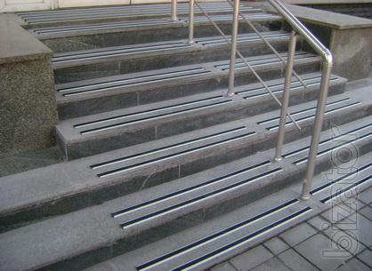 Aluminum anti-slip profile with rubber insert (067) 284-30-56. The measurement setup. Replacement rubber profile.