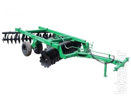 The disc harrow BGR-4.2 Solokha