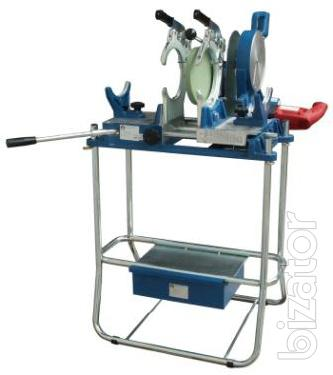 Machine for welding of polyethylene pipes