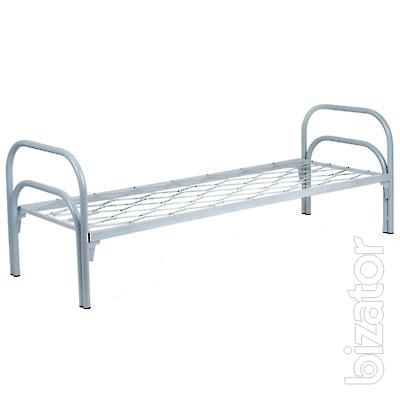 Metal beds 1-tier from 800 rubles, beds metal 2-tier from 1400 rubles for workers, hostel, camp site, camp