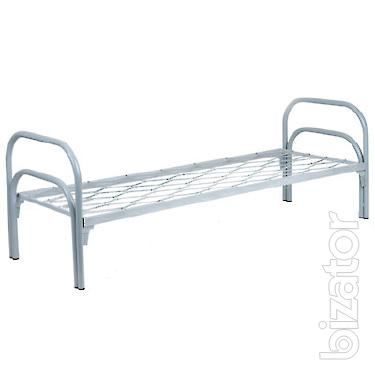 Metal beds from 800 rubles, beds for workers, builders, hostels