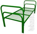 Metal beds from 750 rubles for a boarding house, bed army, beds for camp, metal beds for hotels, CROs
