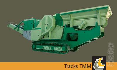 Mobile unit TRIMAN-TRACK TMM-1130 JAW CRUSHER on tracks