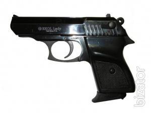 The starting gun Ekol lady