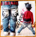 Детские джинсы для мальчиков, высокого качества