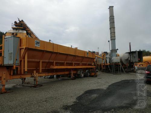 Used mobile asphalt plant AMMANN