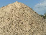 Доставка песка речного и карьерного