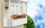 Work with balconies (loggia) of any complexity (Kiev)