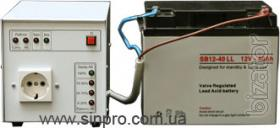 For gas-fired boiler (Kyiv) - voltage regulator, UPS with battery.