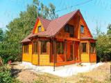 build wooden houses under the key