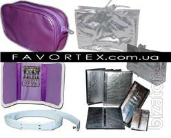 Cosmetic bags and promotional packaging under the order