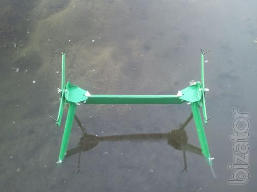 Подставка под  2 удилища донного и поплавочного
