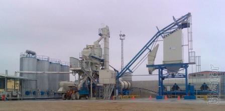 Sold mobile asphalt plant BENNINGHOVEN MBA-200 2007