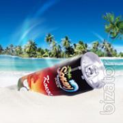 Exotic drinks from the tropics Aloe Vera,Coconut milk,Lychee, Mangosteen,Tamarind, Pineapple, Passion fruit, Guava