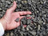 Crushed granite, crushed gravel