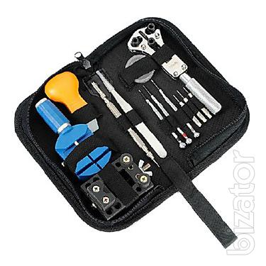 Set of watch tool of 13 items