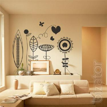 Decorative stickers on the wall wholesale