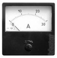 Sell ammeters and voltmeters E, A, E, E-1, E-2, M, M42300, etc.