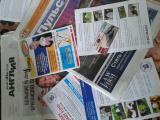 доставке (deliveri) по почтовым ящикам, персональным адресам: писем,бизнес карт, лефлет, каталогов, журналов, посылок