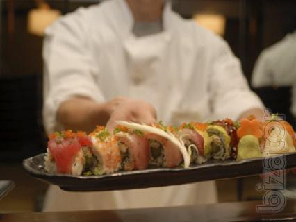 The training of cooks Japanese food