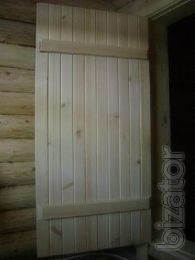 Двери банные.