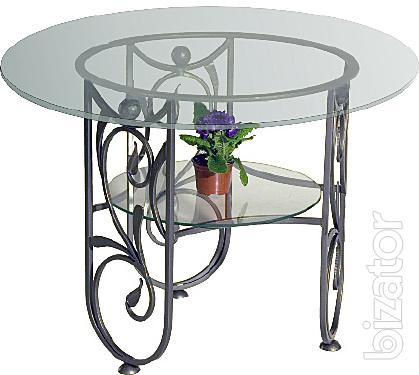 Wrought iron coffee table Mascot