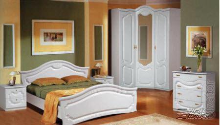 Белая спальня Орхидея Мебель-Неман со склада в Москве!