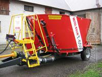 The mixer-feeder T 659-5,the Price of 530 000
