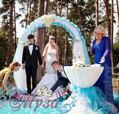 Выездная церемония бракосочетания от ведущей г. Киева - Светланы Музы