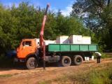KAMAZ 55102 dump truck farmer but with manipulator