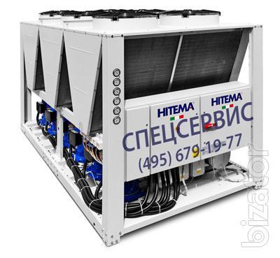 Модульные чиллеры. Производство Италия, фирма HITEMA
