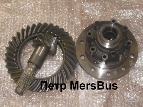 Rear axle Mercedes Sprinter sparks, rear axle gear 37/9, 41