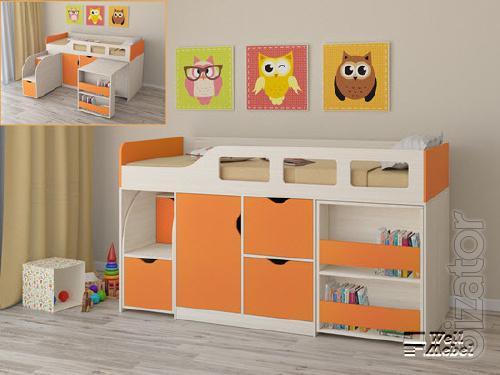 Children bunk bed 2 Atlantic
