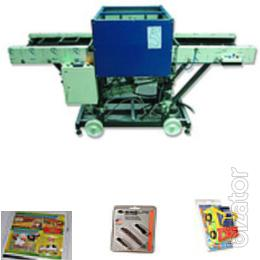 "OST ""the Director Astrahan"" Press blister UNIT-MAX-6-600, for stamping blister with cardboard"