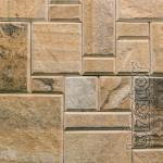 tile mosaic rusztowania with chamfer
