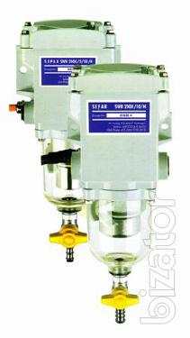 Separ-2000 - additional filter for the purification of fuel for machinery