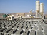 The equipment for manufacture of blocks, pavers, paving, curbs