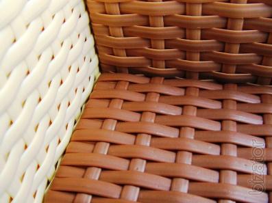 Artificial rattan for making wicker furniture