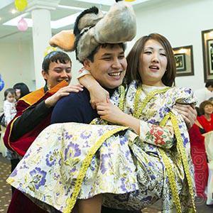 Праздичная съёмка в Алматы